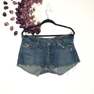 ⭐️3/$20 Lucky Brand Button Fly Cutoff Denim Shorts